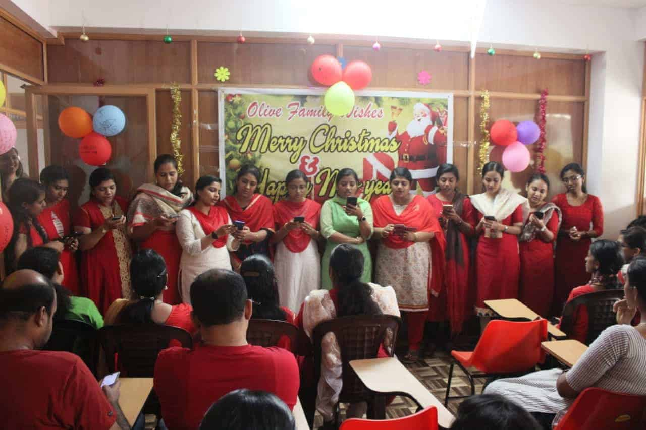 Olive Academy Changanacherry Christmas Celebration 2019-1