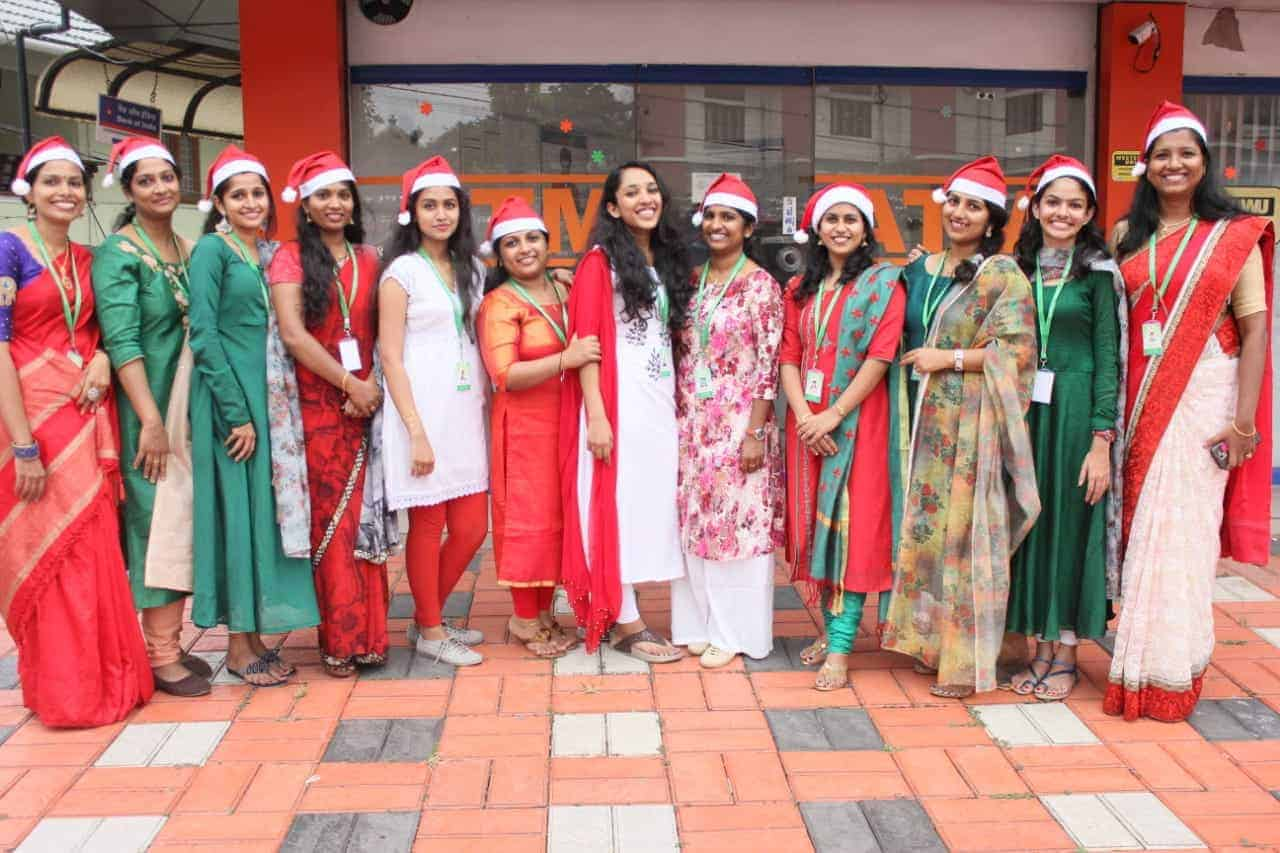 Olive Academy Changanacherry Christmas Celebration 2019 -11