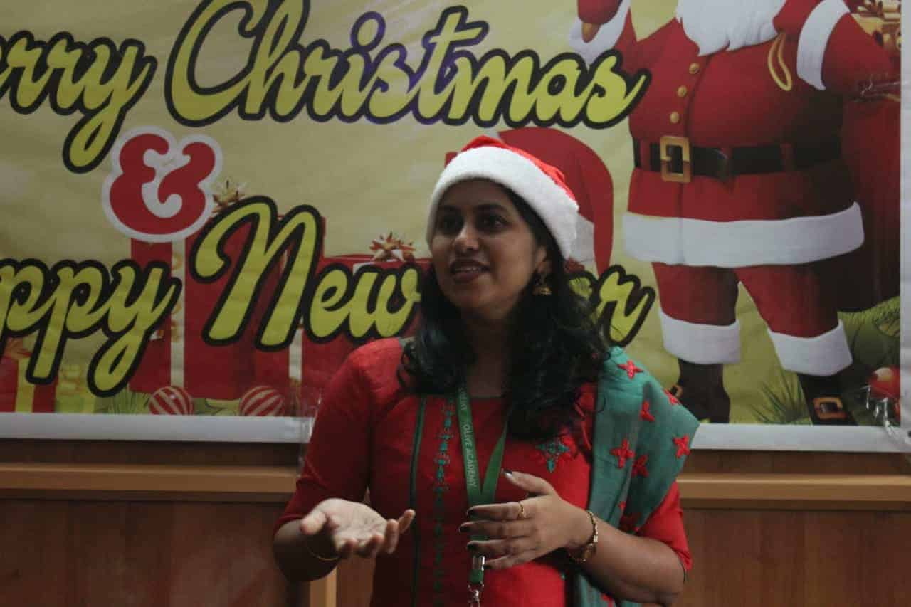 Olive Academy Changanacherry Christmas